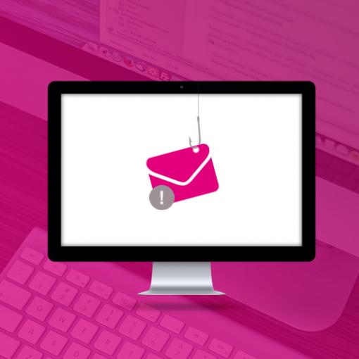 Er zijn weer phishing mails in omloop!