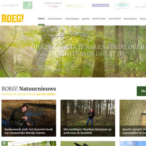 Nieuwe website ROEG! gelanceerd