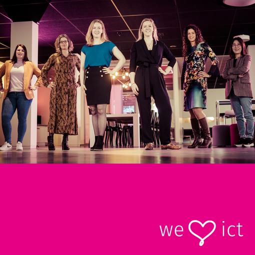 De ICT-dames van Infracom